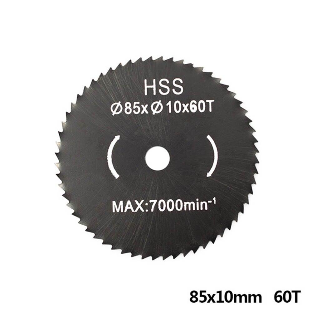 1pc 85mm Nitride Coating Hss Circular Wood Saw Blade / Metal Cutter Wood Cutting Disc Saw Blade