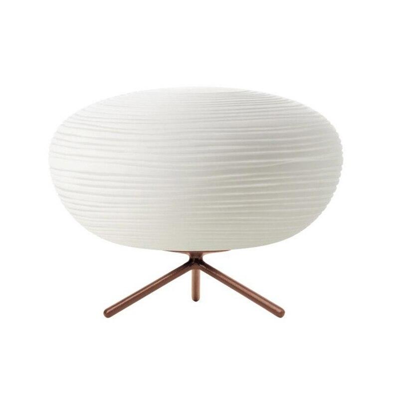 BSOD moderne nordique LED lumières lampe de Table E27 vis AC220V blanc chaud ou blanc pour étude chambre d'hôtel lampes éclairage - 5