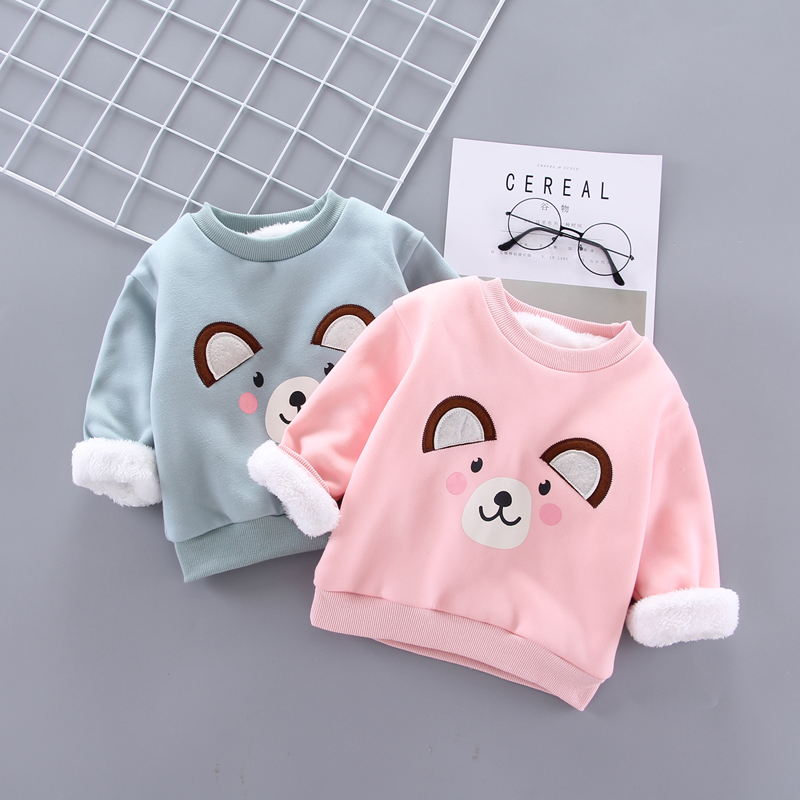 IENENS Pullover Hoodies Girl Sweatshirts Toddler Baby-Boy Kids T-Shirt-4-Years Winter