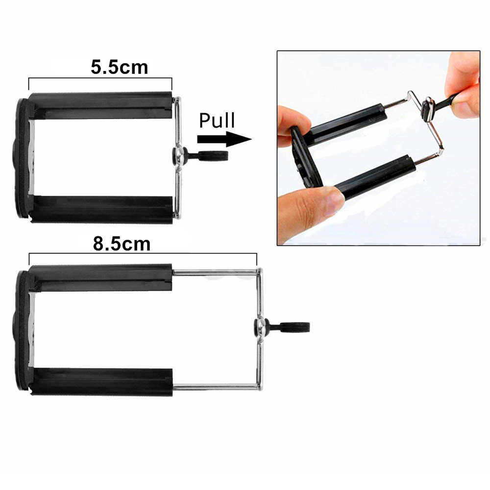 Tripod Bluetooth Remote Rana Rilis untuk Kamera Selfie Stick untuk iPhone Tripod untuk Ponsel Monopod Pemegang untuk Telepon Tripod
