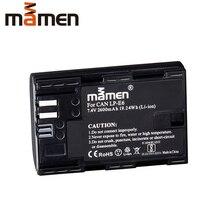 Mamen 2600mAh LP E6 LP-E6 LPE6 Digital Camera Battery For Canon EOS 5D Mark 2 Mark 3 6D 7D 60D Replacement Lithium Battery Pack цена и фото