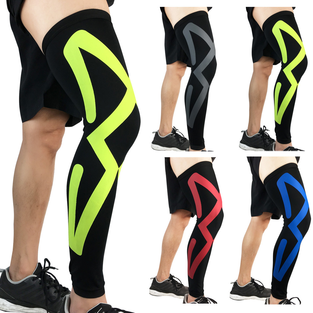 Sport Protective Gear Knee Pads Compression Elastic Thigh Leg Sleeve For Fitness