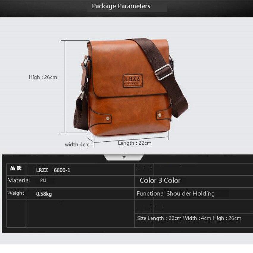 Image 5 - OYIXINGER Men Messenger Bags Satchel Bag Soft Leather Middle aged Man Single Shoulder Practical Work Bag For IPad Tablet PC BagsBriefcases   -