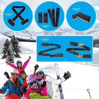 25 # przenośne podwójne pasy snowboardowe Snowboard naprawiono z snowboardowym paskiem na ramię pasy snowboardowe stałe pasy snowboardowe tanie i dobre opinie CN (pochodzenie) Sleds Snow Tubes
