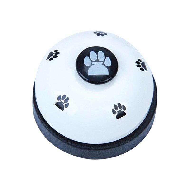 Dog Bell Pet Training Bell Pet Ringing Color Matching Footprint Printing Fun Ringing Dog Bell Pet Communication Toys Cat Dog Toy-5