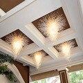 Белый средний последний дизайн муранского потолка выдувное стекло люстра для украшения отеля