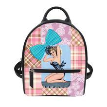 Ballet girl Print Bagpack Custom patterns Women's luxury backpacks Casual Anti Theft Backpack for ladies travel backpack