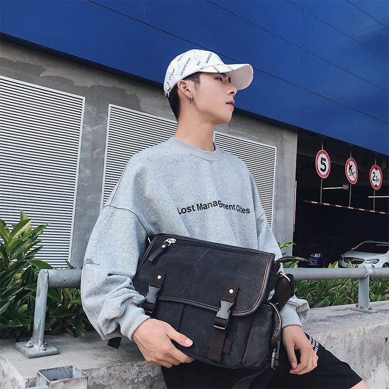 Hf1bb3f024d9d4bacbecdbf4c24b34d9dl Vintage Men's Briefcases Shoulder Bag Travel Crossbody Bags Causal Canvas Messenger Bag Patchwork Multi-function Laptop XA237ZC