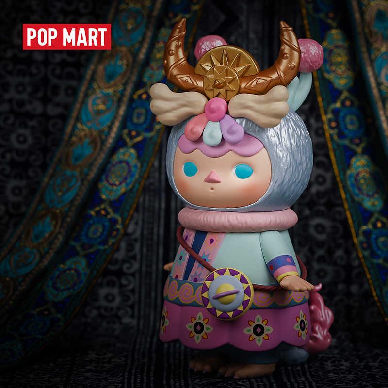POPMART Pucky Dragon bébé figure limitée 17cm poupée binaire Action Figure cadeau d'anniversaire enfant jouet