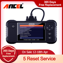 Diagnostic-Scanner Ancel OBD2 FX3000 Autotool Reset Engineer-Transmission with EPB Sas-Oil