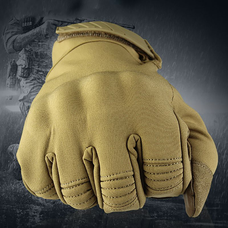 Touch Screen Gloves Outdoor Winter Wear Waterproof And Windproof Warm Climbing Sport Riding Protective Driving Gloves