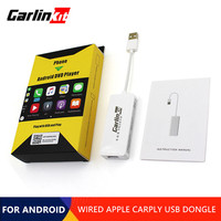 CarLinkit Mini Wired Apple Carplay USB Dongle For Android Navigation Player With Android Auto Mirror For Car