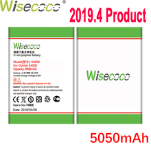 WISECOCO 5050mAh Battery For Oukitel K4000 K 4000 Lite Phone Latest Production High Quality Battery+Tracking Number