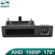 GreenYi 170 градусов 1920*1080P HD AHD ночное видение Автомобильная камера заднего вида для BMW 5 серии F10 F11 3 серии F30 F31 F32 X3 F25