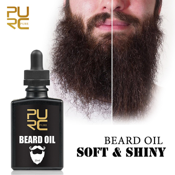 Pro Hair Oil Growth Men's Beard Fragrance Soft and Smooth Beard Growth Essence Oil Thicker Fuller Shiny Hair Extension Pure 1