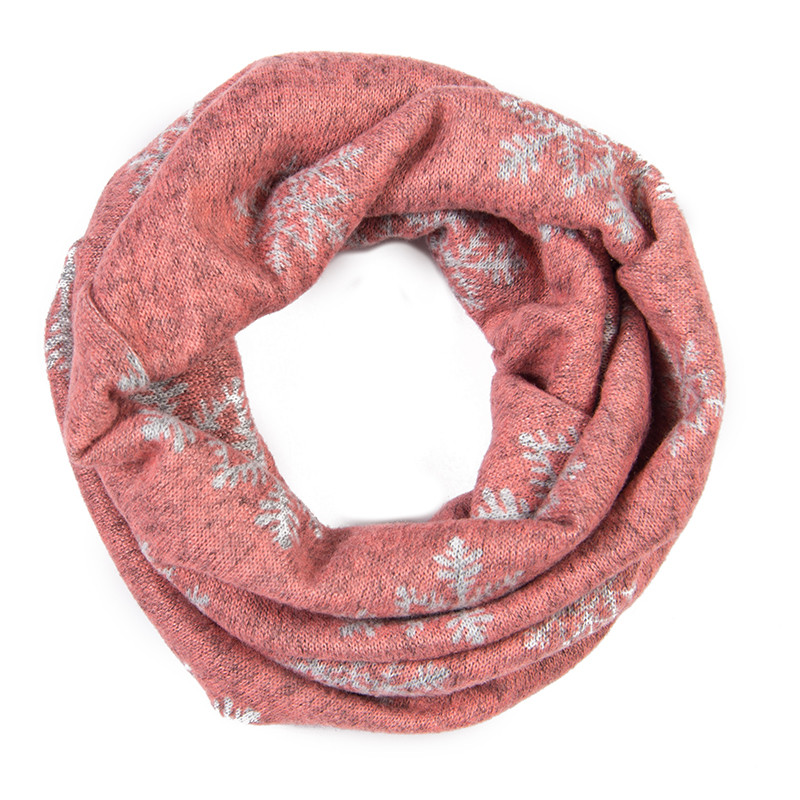 One Loop Cashmere Baby Scarf Toddler Scarves Floral Leopard Print Girls Scarf Polka Dots Kids Scarfs Children's Snood