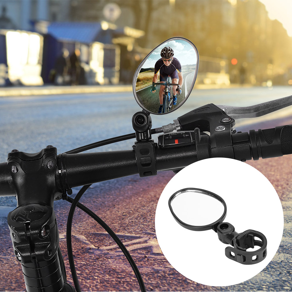 Adjustable 360 Degrees Bike Bicycle Handlebar Flexible Safe Rear View Mirror