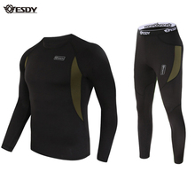 Sport Thermal Underwear Sets Unisex Underwear Fleece Quick Drying Underwear for trends,cycling,hiking,camping,fishing,Shooting