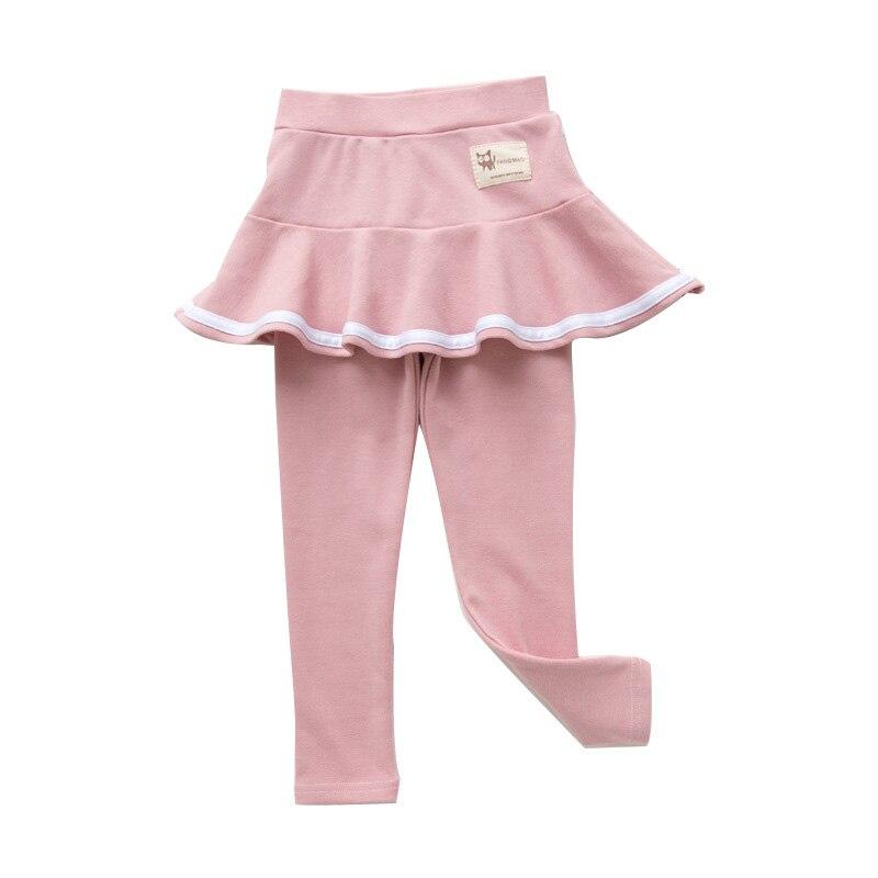 2019 Fall Girl Sprot Legging Skirt-pants Cake Skirt Baby Girl Fall Leggings Children's Girls Skirt Pant for 3-8 Years 2