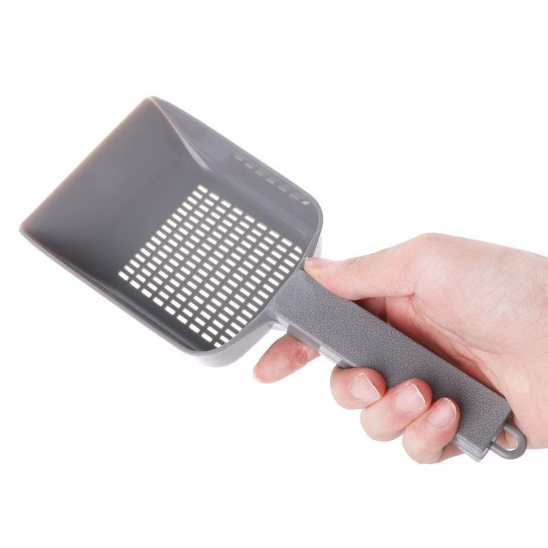 Indoor Sand Shovels Portable Durable Plastic Practical Cleaning Cat Pet Litter Scoop Shovel Pets Supplies K4UA
