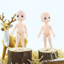 New 13 Movable Joints Bjd Doll 16CM Toy Mini Cute Nude 3D Eyes Girl Dress Up Casual Fashion Clothes Suit Accessories Gift Toy treatment of joints health elbow patch with merino wool gift warm up warm up joints warming bandage m ecosapiens