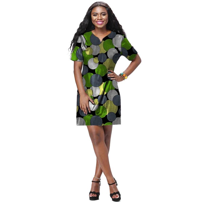 Robe de cire africaine patchwork Kanga design Ankara tenues d'impression sur mesure vêtements pour femmes africaines robe de Dashiki à la main