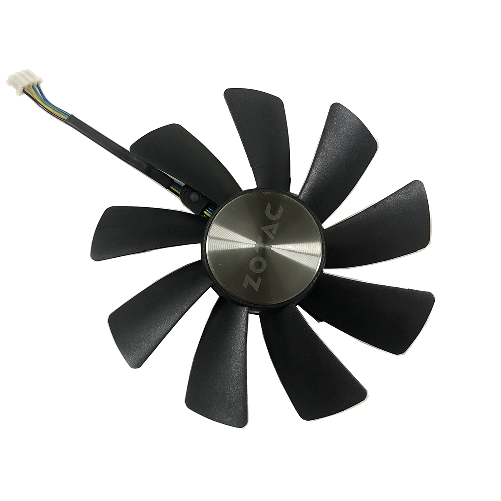 87MM GA92S2H 100MM GAA8S2U 4Pin GPU Cooler Fan For ZOTAC GTX 1070 Ti MINI HA 1080 Ti MINI Dual Graphic Card Cooling Fan