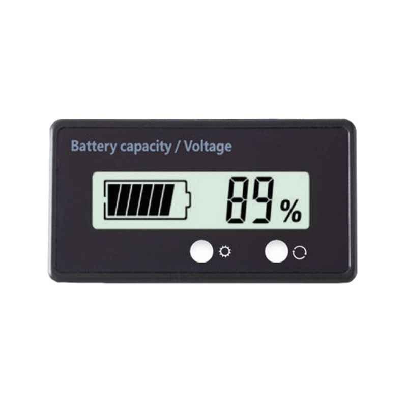 12V//24V//36V//48V~Säure Blei Lithium Batterie Kapazität Anzeige Tester Voltmeter
