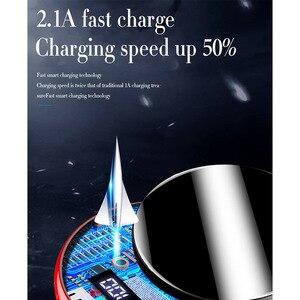Image 3 - FLOVEME Mirror Power Bank 20000mAh For Xiaomi mi Phone Charger USB Powerbank 20000mAh Carregador Portatil Bateria Externa Movil