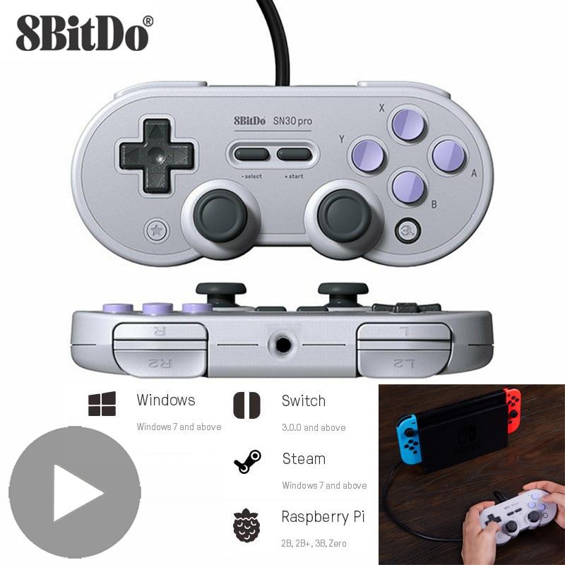 8bitdo SN30 Pro Gamepad Trigger USB Joystick For Nintendo Nintend Switch Control PC Computer Game Pad Joypad Controller Gamepad
