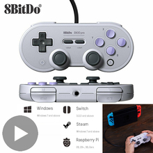 8bitdo SN30 Pro Gamepad Trigger USB Joystick For Nintendo Nintend Switch Control PC Computer Game Pad Joypad Controller Gamepad