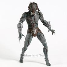 NECA figura de acción de The Predator, juguete de modelos coleccionables de PVC, blindado, Assassin Ultimate