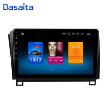 "Dasaita 1 din Android 9,0 Radio para Toyota Tundra 2007-2013 GPS Sequoia 2008-2018 TDA7850 Video de 1080P 10,2 ""IPS pantalla táctil(China)"