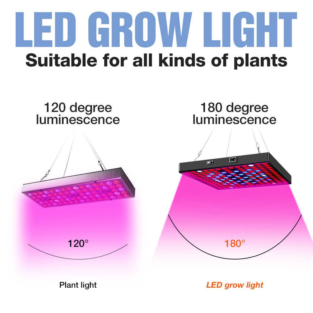 成長ライト30ワット50ワットの植物ランプledフルスペクトルランプ成長led水耕ライトフィト花苗led温室fitolamp