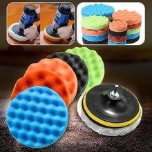 Voiture-Disc-Kit-Set Wheel-Polish Car-Polishing-Pad Waxing-Sponge Detailing