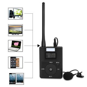 Image 5 - Portable 3.5MM AUX Low power Wireless FM Transmitter Stereo Radio Broadcast Adapter Support TF card For Xiaomi  MP3 PC CD