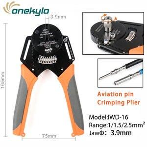 IWD-16 lotnictwo ter solidna lufa uniwersalne ręczne narzędzie do zaciskania do styków obrabianych DMC złącze Amphenol Deutsch terminal