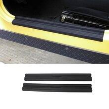 Einstiegseinstiegleisten Auto Tür Sill Schutz Anlage für Jeep Wrangler TJ 1997 2006 Auto Innen Zubehör ABS schwarz Styling