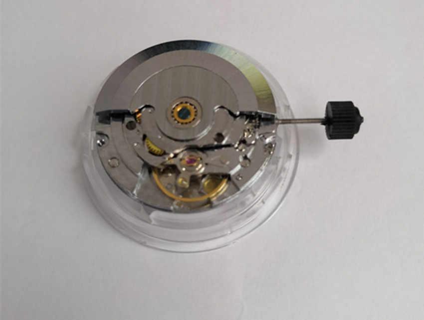 Szanghaj mechaniczny mechanizm autoamtyczny klon ETA 2824 wyświetlanie daty ruchu pasuje do zegarka męskiego
