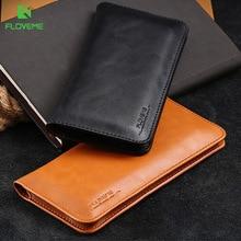 "FLOVEME 5,5 ""Чехол бумажник из натуральной кожи для iPhone 12 камер Мгновенной Печати Mini 8 7 Plus, 6, 6S, Plus, чехол для телефона сумка для iPhone SE 2020 5 5S SE"