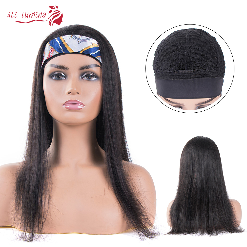 Long Straight Glueless Headband Wig Ali Lumina 2