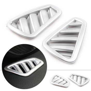 2Pcs Car Styling Upper AC Air Vent Outlet Cover for Mercedes Benz A-Class W177 2019 A200 A220 A250 5-Door Only ABS Plastic image