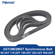 Timing-Belt Synchronous POWGE Closed Teeth-48 Rubber 2M 2GT 303 101 94 Pitch-Length 55