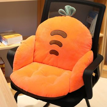 Lanke Cartoon Chair Cushion  Lumbar Back Support