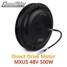 48V 500W Direct Drive Gearless Hub Motor E bike Motor Front Motor Rear Cassette Motor Optional MXUS Brand XF39 XF40 freehub