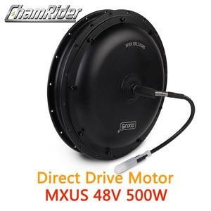 Image 1 - 48V 500W Direct Drive Gearless Hub Motor E bike Motor Front Motor Rear Cassette Motor Optional MXUS Brand XF39 XF40 freehub