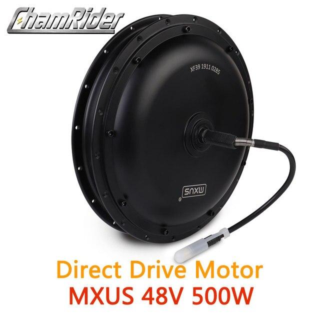 48V 500W с прямым приводом безредукторных мотор для центрального движения для электровелосипедов передний мотор сзади кассета дополнительный мотор MXUS бренд XF39 XF40 трещотки