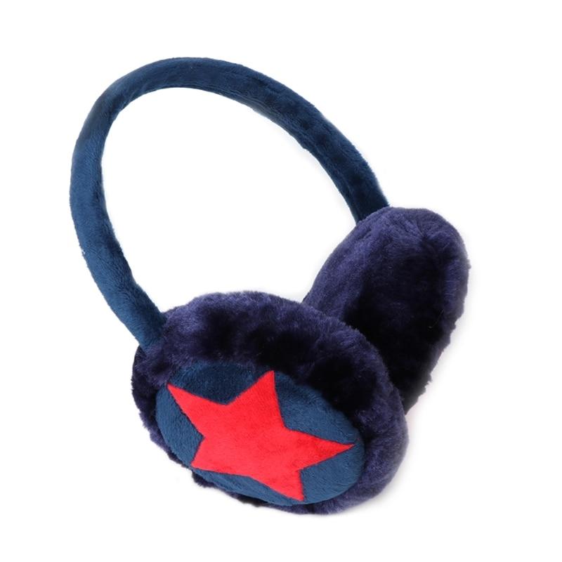 Kids Earmuff Ears Pad Warm Winter Plush Girl Earflap Earbuds Snowy Windy Warmer