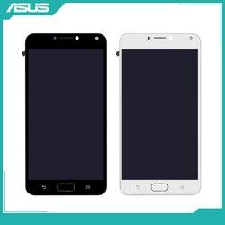 Tela original asus 5.5 '', display lcd para asus zenfone 4 max zc554kl, touch screen zc554kl, lcd x001d, digitalizador, substituição peças