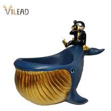 Статуэтка для хранения дельфинов vilead статуя Кита офисное